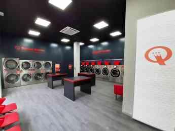 Interior lavandería Speed Queen Móstoles