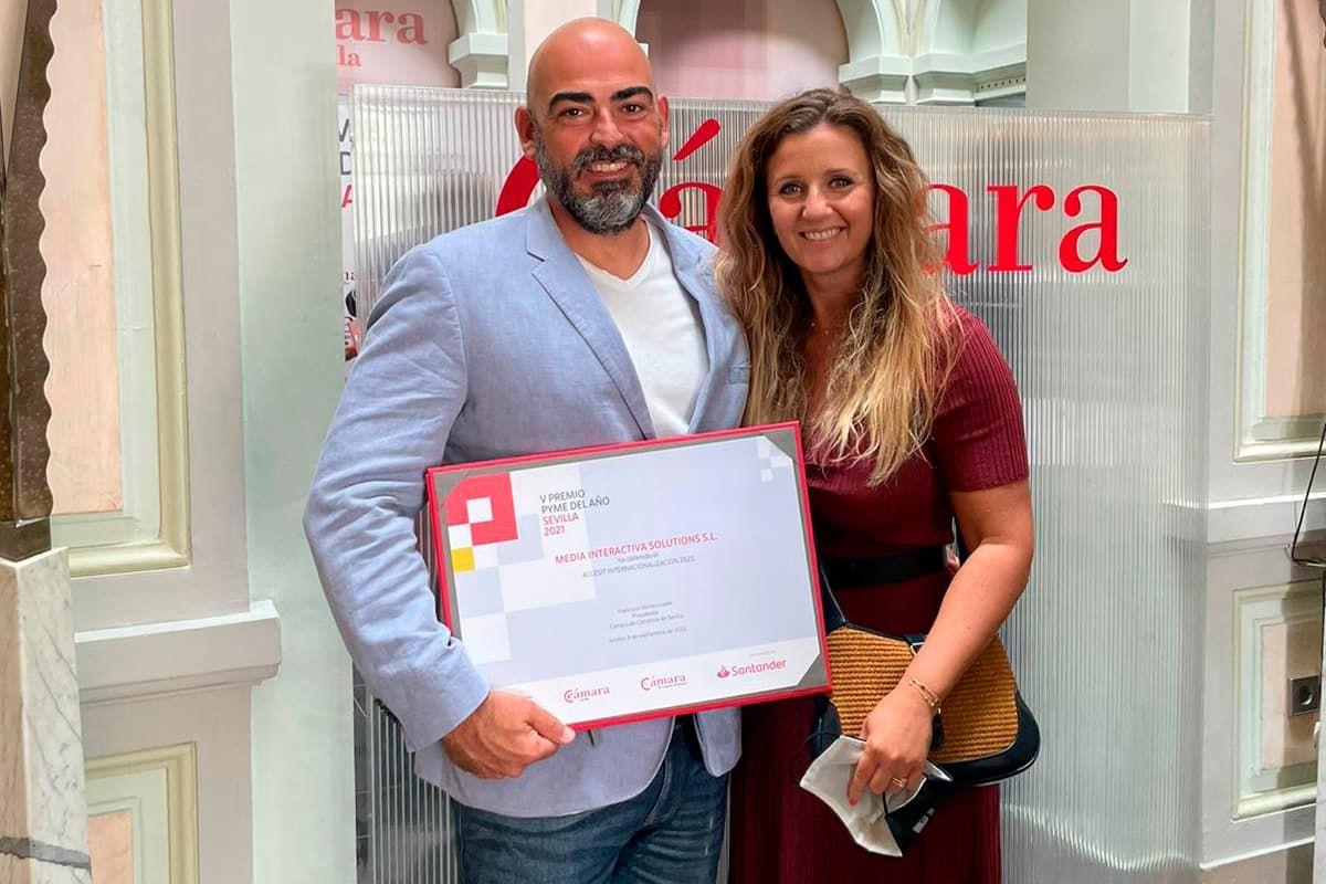 Fotografia Premio Pyme del Año 2021 Sevilla
