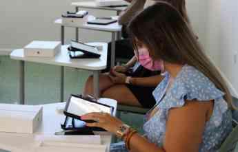 Foto de Alumnado de CDP Albor Madrid el día de la presentación del