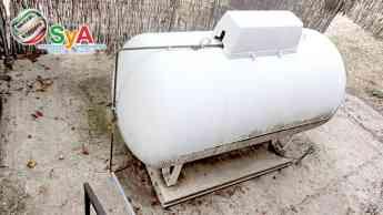 Depósitos de gas en los hogares