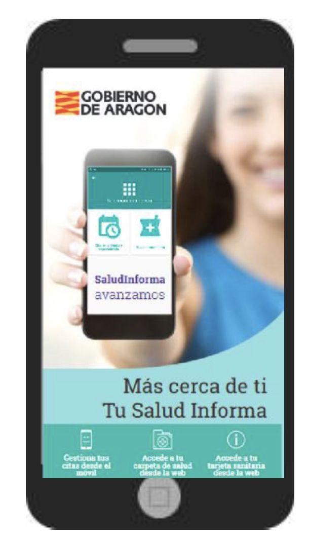 Foto de Aplicación Gobierno de Aragón
