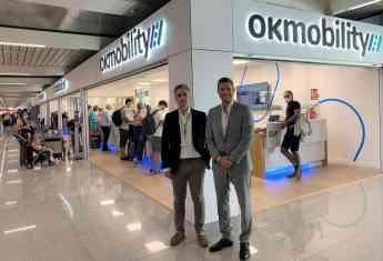 Noticias Coches | Inaguruación oficina OK Mobilty Aeropuerto Palma