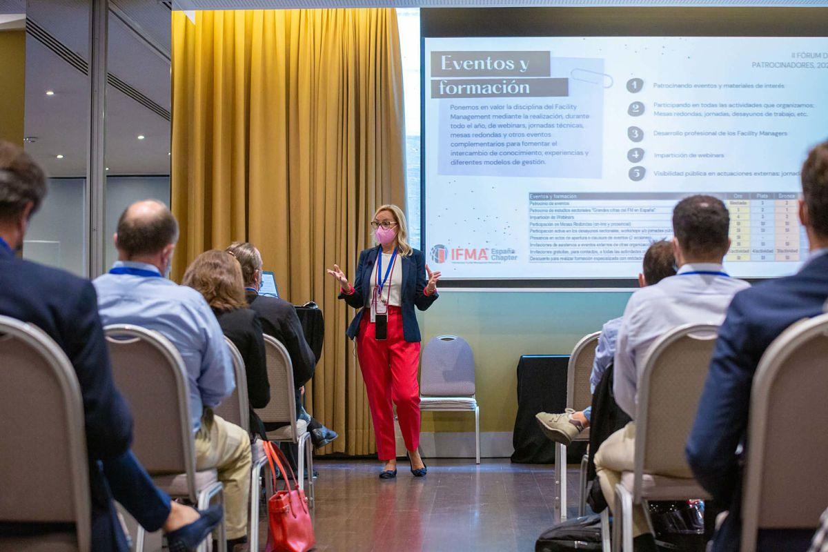 Fotografia Evento Patrocinadores y Colaboradores de IFMA España