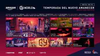 Nace AMAZON GAMERGY WORLD, el mundo virtual de GAMERGY