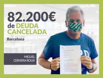 Miguel Cervera, exonerado con Repara Tu Deuda con la Ley de Segunda Oportunidad