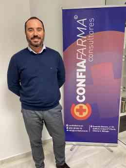 Jose Alberto Calderón, Director General de ConfiaFarma.