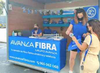 Foto de Avanza Fibra presente en más de 80 mercadillos y ferias