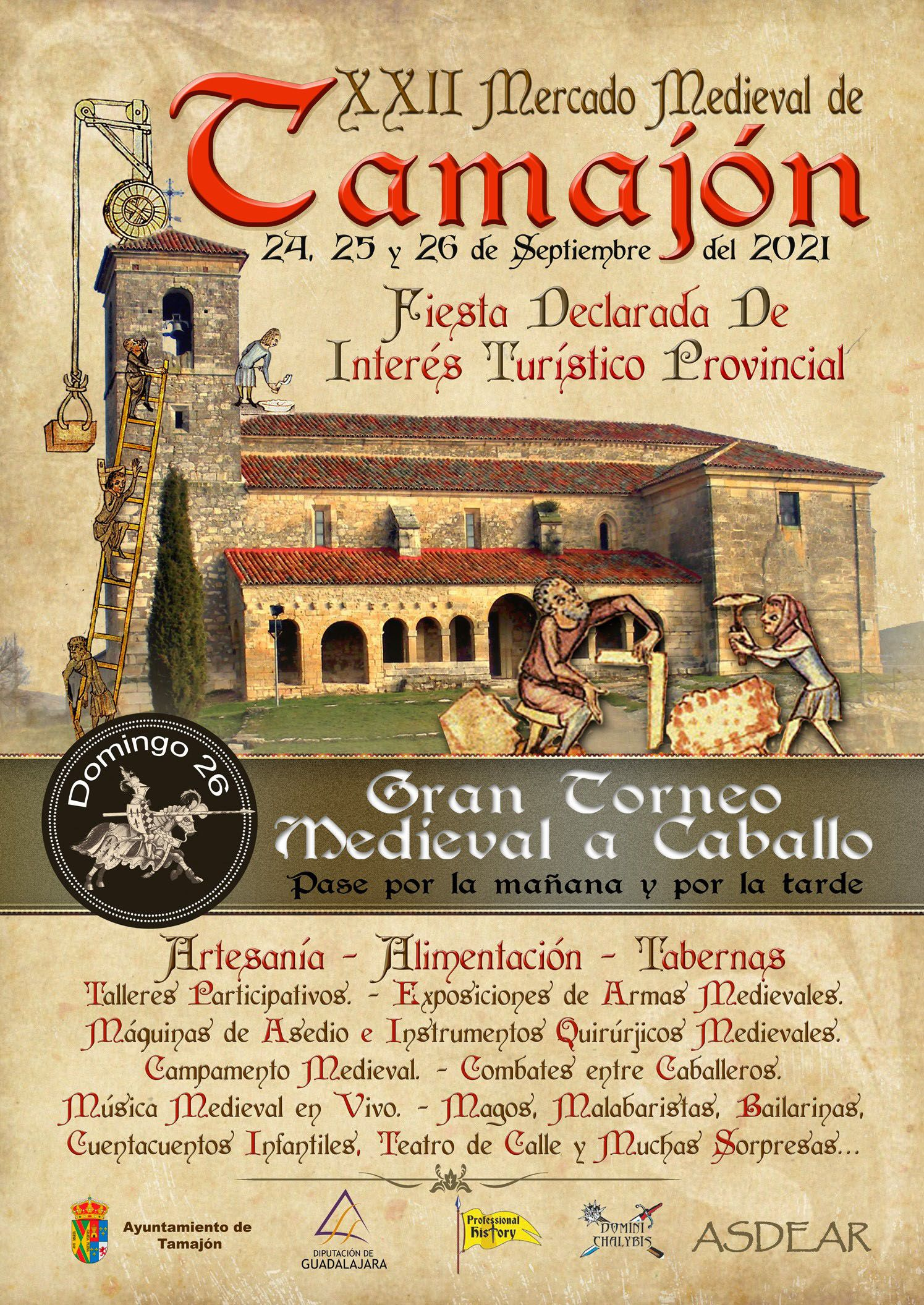 Fotografia El Mercado Medieval vuelve a Tamajón en la que será su