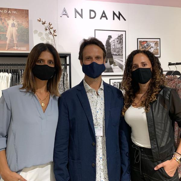 Fotografia Trabajadores de la firma ANDAM