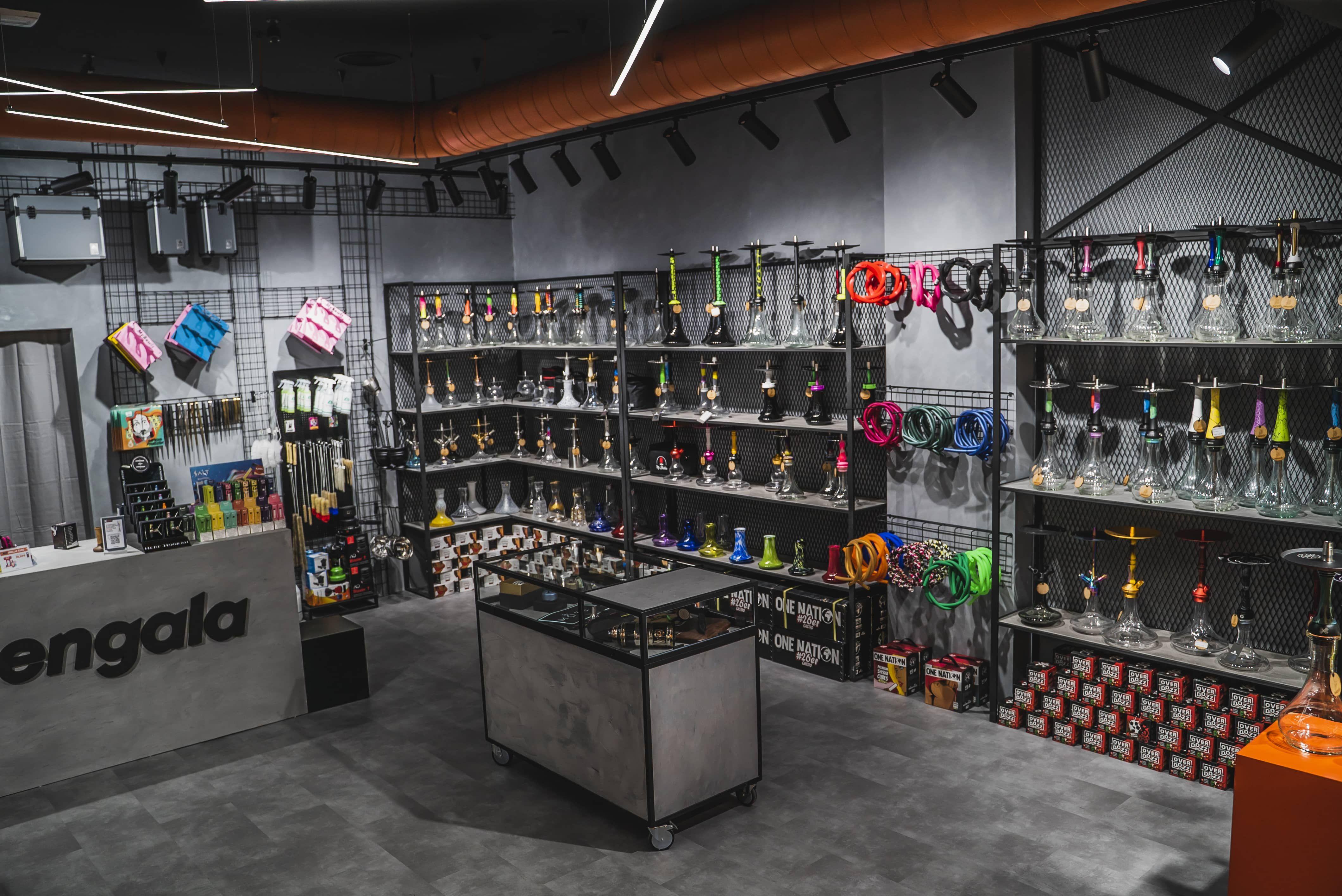 Fotografia Interior de la tienda