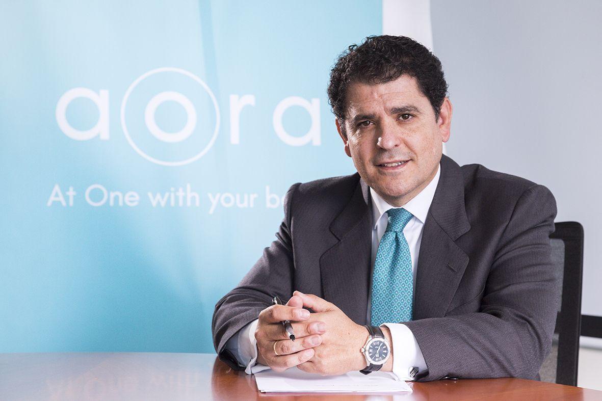 Fotografia Gonzalo Peñaranda, CEO de AORA Health