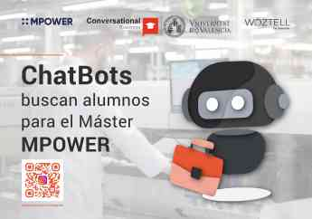 ChatBots en Facebook e Instagram buscan alumnos para el Máster MPOWER, de POWER ELECTRONICS
