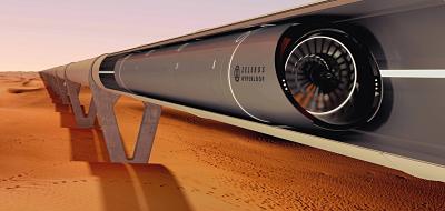 Fotografia Zeleros Hyperloop