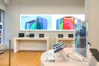 Interior tienda Apple de K-tuin