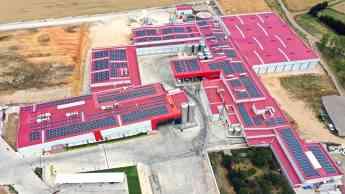 Instalación de autoconsumo desarrollada por EiDF en la empresa Valle de San Juan