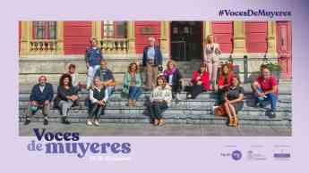 #VocesDeMuyeres en la rueda de prensa