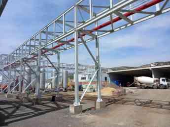 Foto de Construcción planta bioaceite renovable de Puertollano