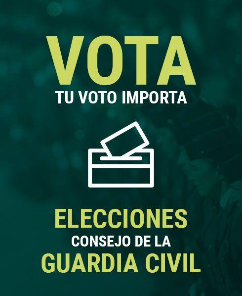Fotografia Elecciones al Consejo de la Guardia Civil