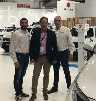 Juanma Cervantes en Automobile Barcelona