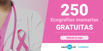 SaludOnNet dona 250 ecografías mamarias