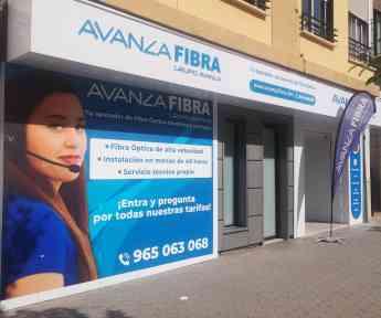 Avanza Fibra se convierte en el primer operador de fibra óptica en Valencia y Alicante