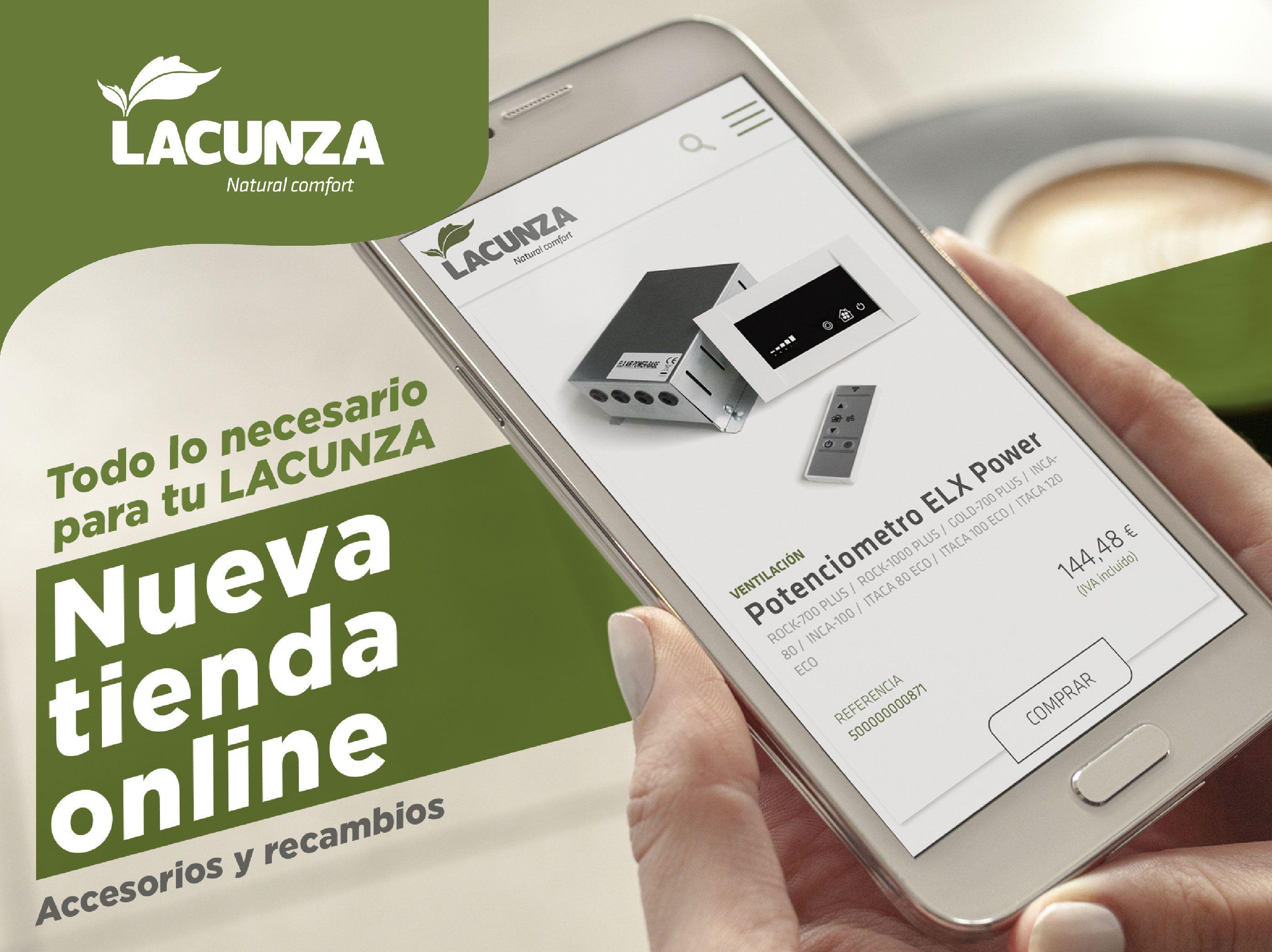 LACUNZA lanza su nueva tienda online de accesorios