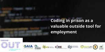 El proyecto Coding Out se ha desarrollado durante los dos últimos años en España, Portugal y Rumanía, financiado por el programa